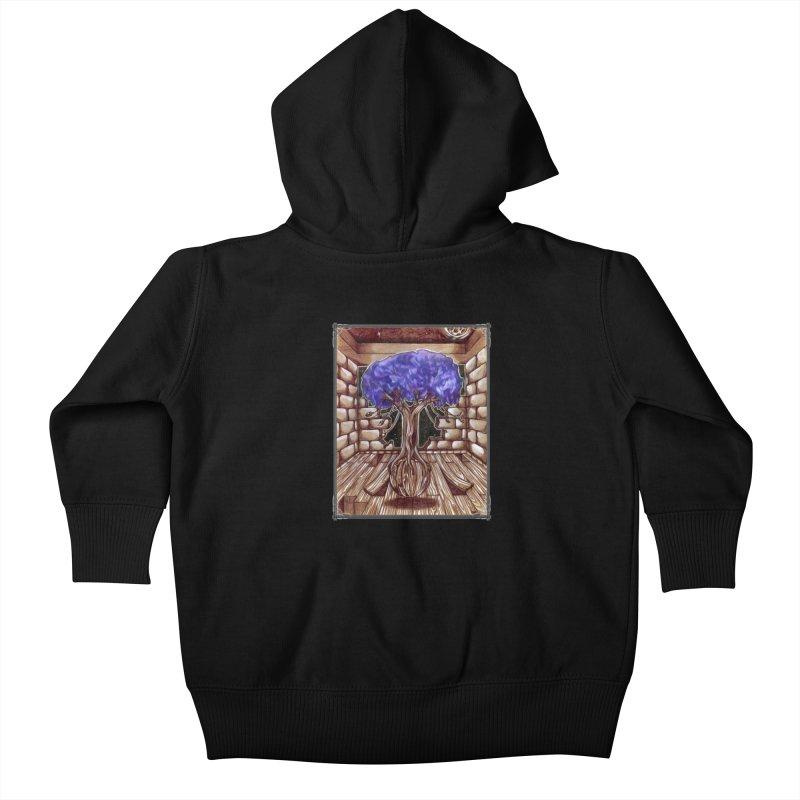 Purple Tree Kids Baby Zip-Up Hoody by Ben Mirabelli