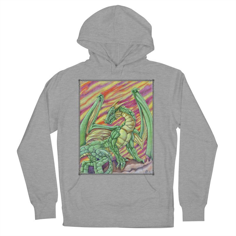 Yulth, The Emerald Apocalypse Women's French Terry Pullover Hoody by Ben Mirabelli