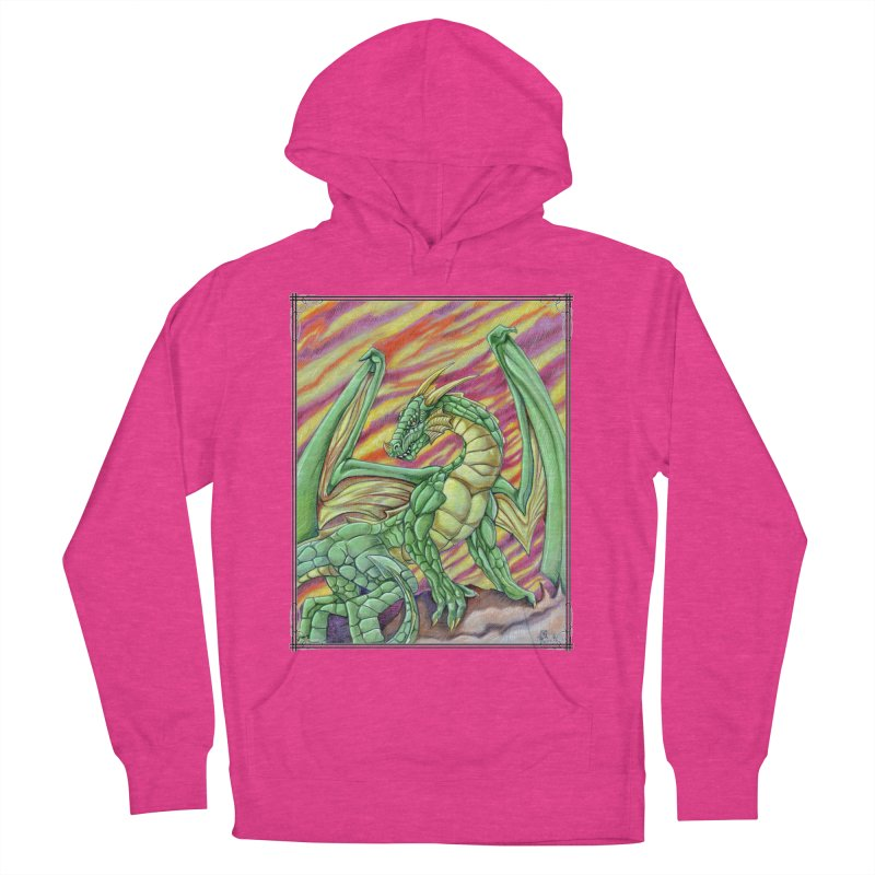 Yulth, The Emerald Apocalypse Men's French Terry Pullover Hoody by Ben Mirabelli