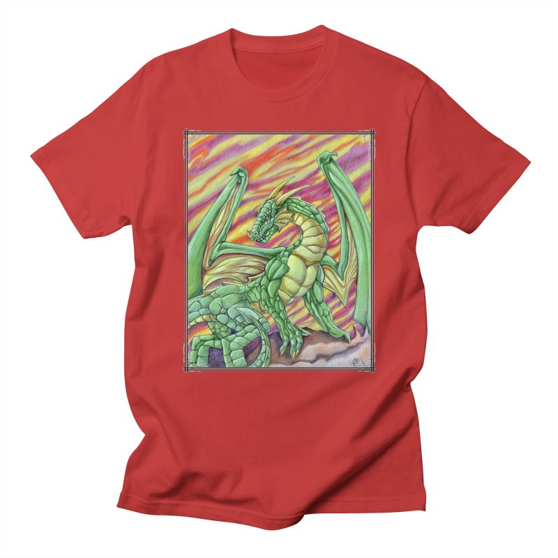 Yulth, The Emerald Apocalypse Men's Regular T-Shirt by Ben Mirabelli