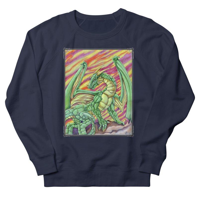 Yulth, The Emerald Apocalypse Women's French Terry Sweatshirt by Ben Mirabelli