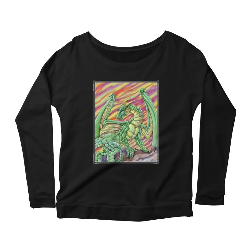Yulth, The Emerald Apocalypse Women's Scoop Neck Longsleeve T-Shirt by Ben Mirabelli