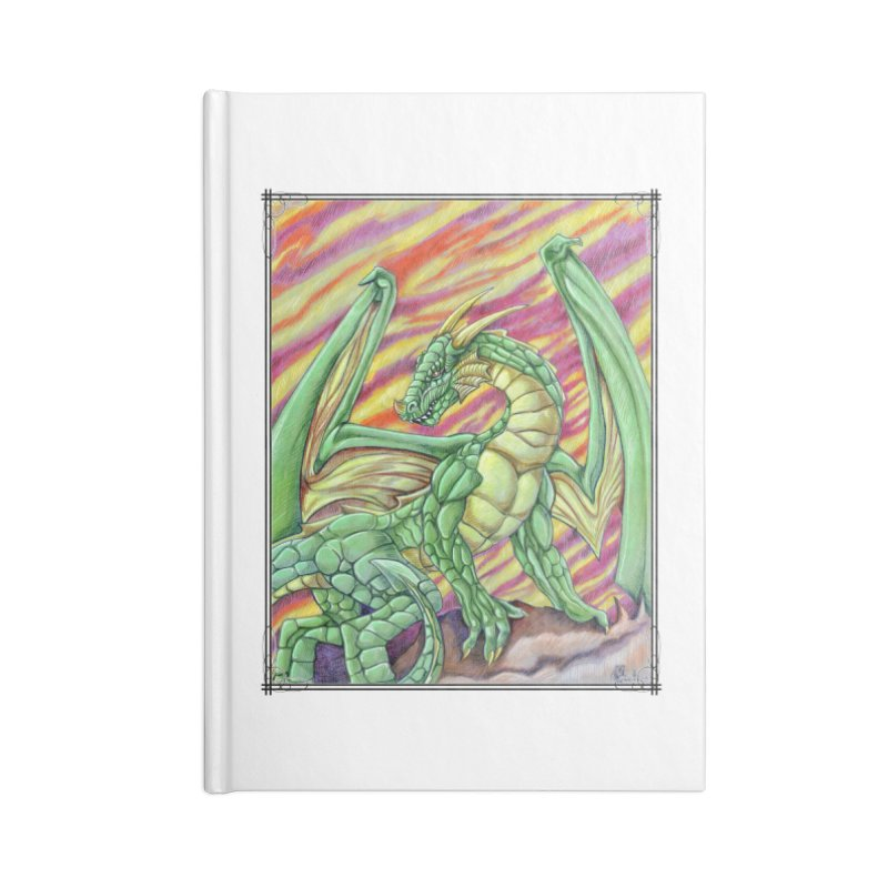 Yulth, The Emerald Apocalypse Accessories Blank Journal Notebook by Ben Mirabelli