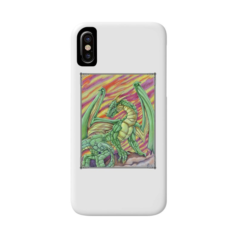 Yulth, The Emerald Apocalypse Accessories Phone Case by Ben Mirabelli