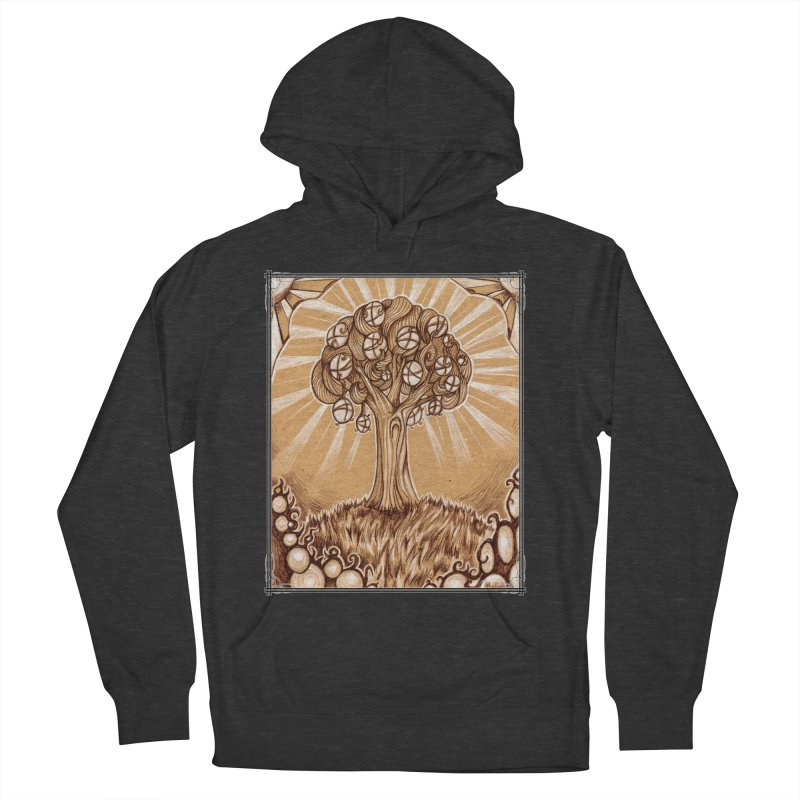 Tree of Life Women's French Terry Pullover Hoody by Ben Mirabelli