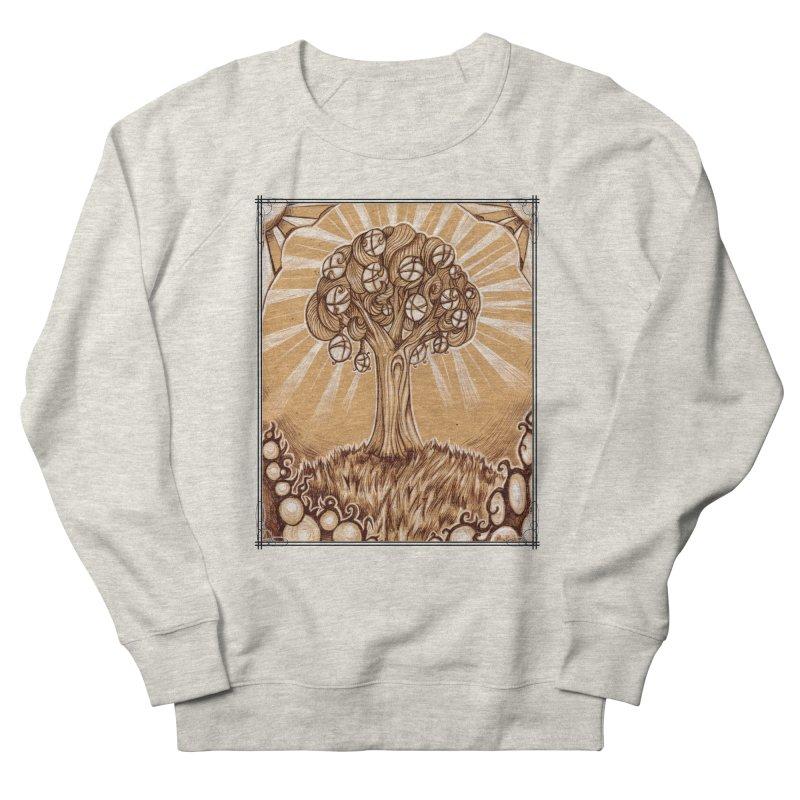 Tree of Life Women's French Terry Sweatshirt by Ben Mirabelli