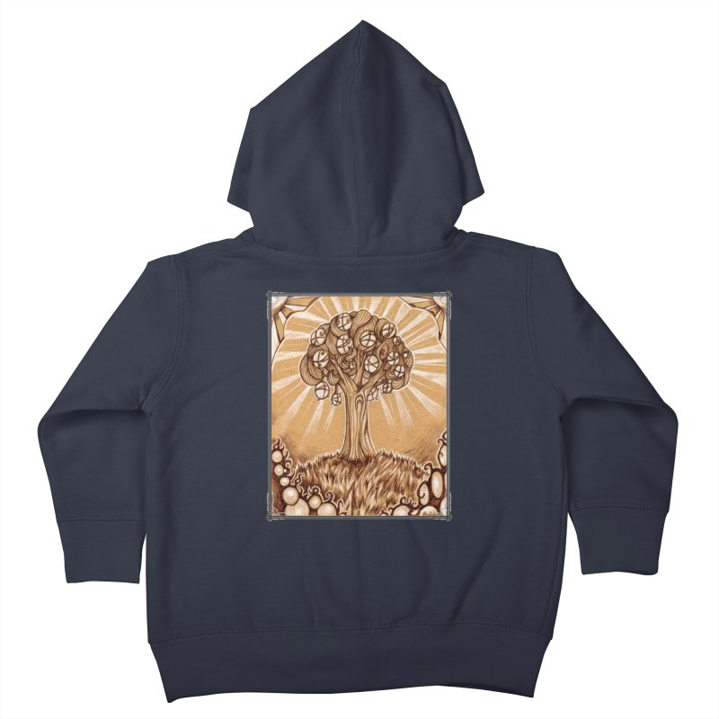 Tree of Life Kids Toddler Zip-Up Hoody by Ben Mirabelli