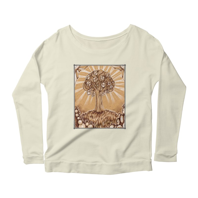 Tree of Life Women's Scoop Neck Longsleeve T-Shirt by Ben Mirabelli