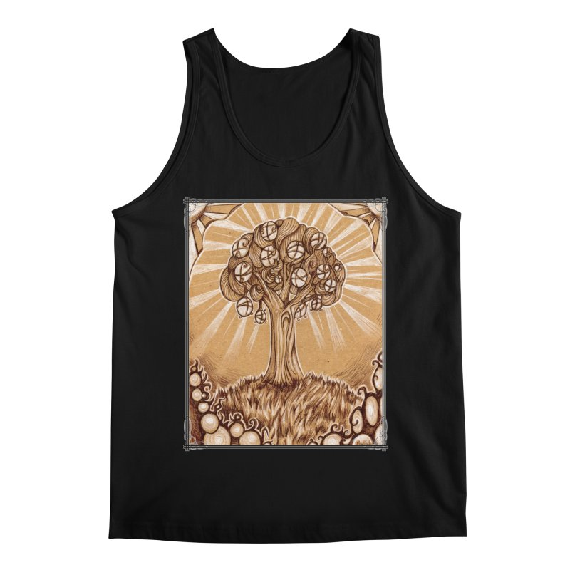 Tree of Life Men's Regular Tank by Ben Mirabelli
