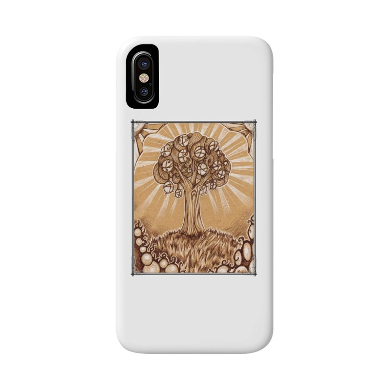 Tree of Life Accessories Phone Case by Ben Mirabelli