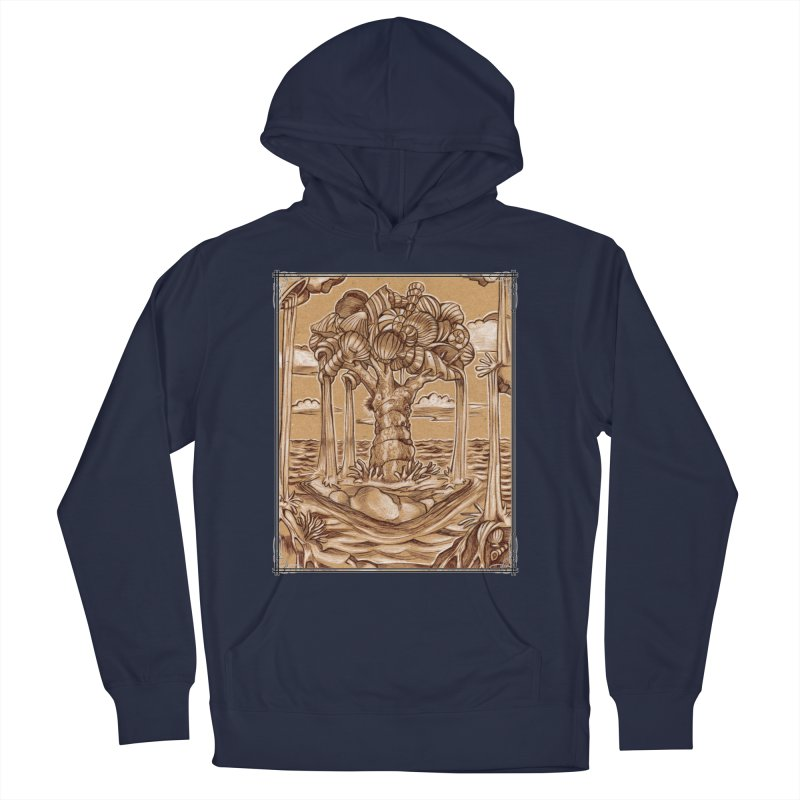 Water Tree Men's Pullover Hoody by Ben Mirabelli