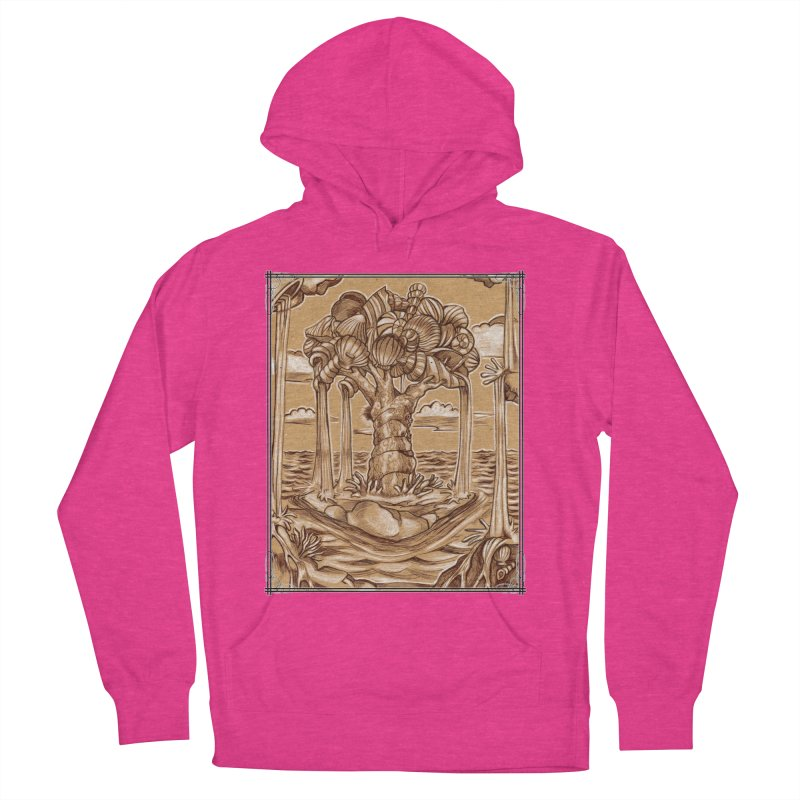 Water Tree Women's French Terry Pullover Hoody by Ben Mirabelli
