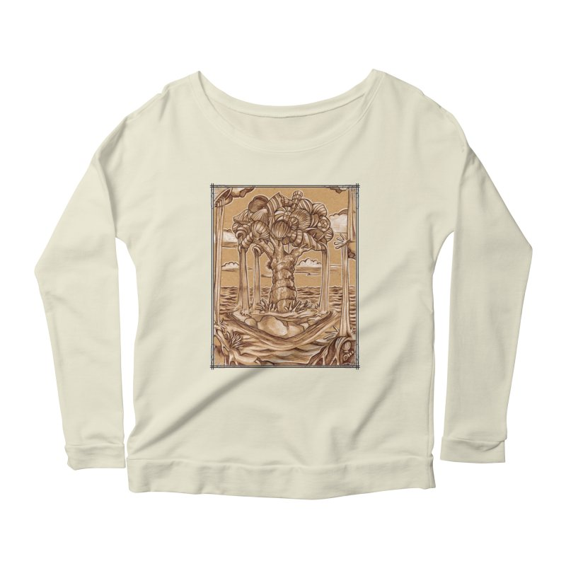 Water Tree Women's Scoop Neck Longsleeve T-Shirt by Ben Mirabelli