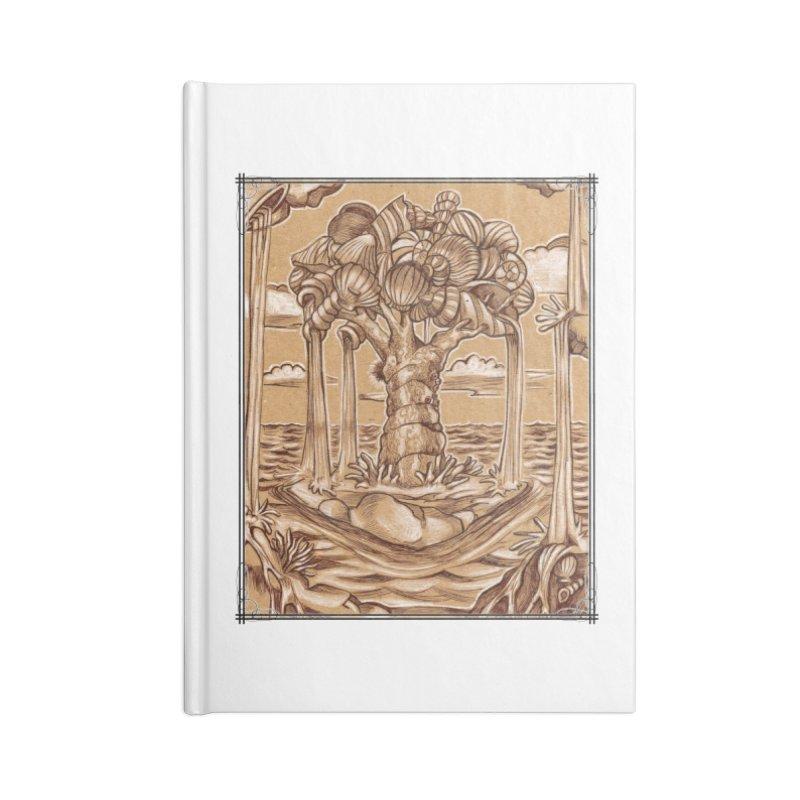 Water Tree Accessories Blank Journal Notebook by Ben Mirabelli