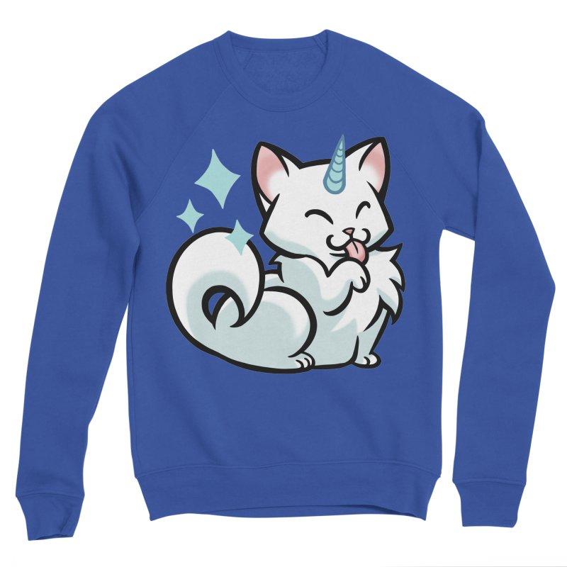 UniCat Men's Sweatshirt by The Art of Mirana Reveier