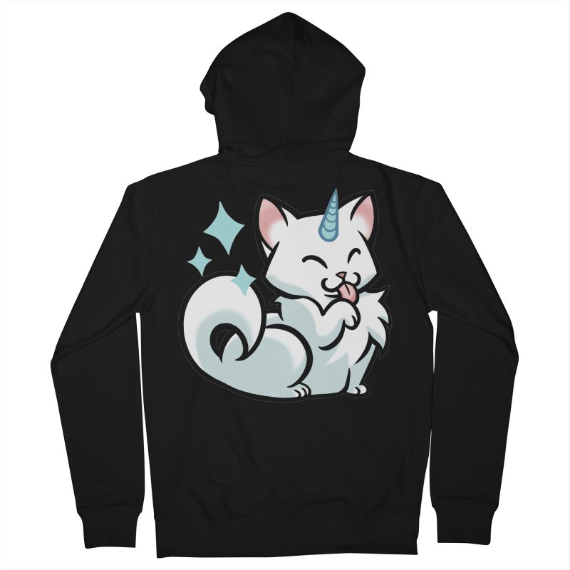 UniCat Women's French Terry Zip-Up Hoody by mirana's Artist Shop