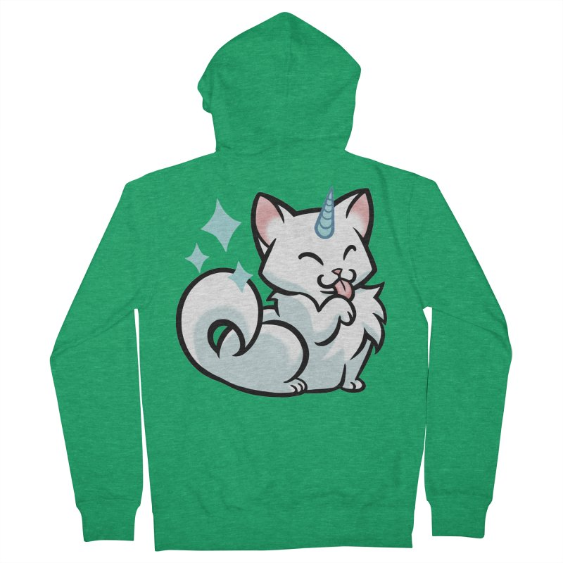 UniCat Men's Zip-Up Hoody by The Art of Mirana Reveier