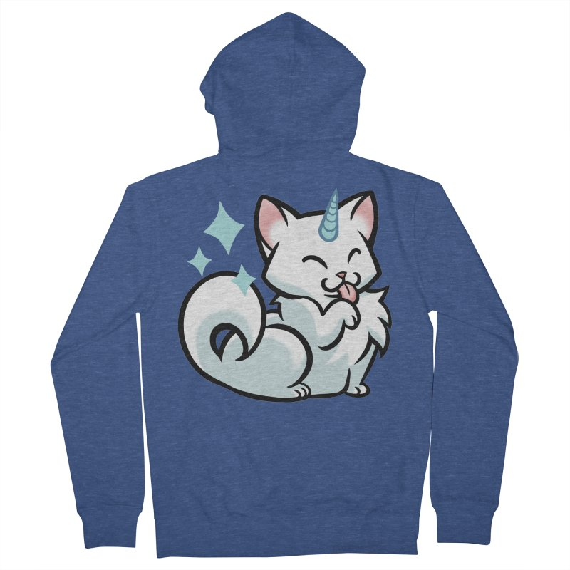 UniCat Men's Zip-Up Hoody by mirana's Artist Shop