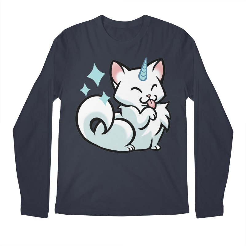 UniCat Men's Longsleeve T-Shirt by mirana's Artist Shop