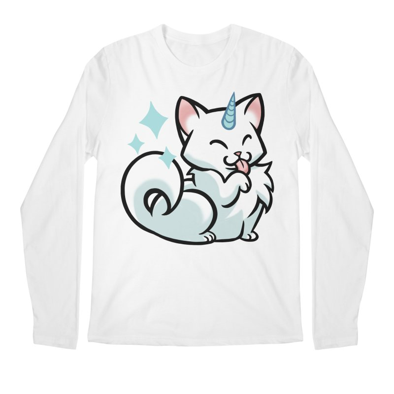 UniCat Men's Regular Longsleeve T-Shirt by mirana's Artist Shop