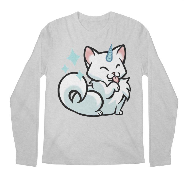 UniCat Men's Longsleeve T-Shirt by The Art of Mirana Reveier