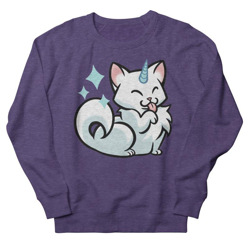 UniCat Women's French Terry Sweatshirt by mirana's Artist Shop