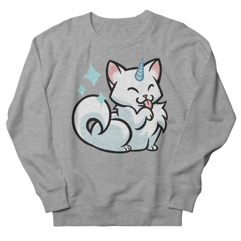 UniCat Men's French Terry Sweatshirt by mirana's Artist Shop