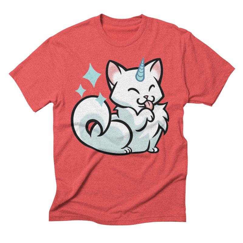 UniCat Men's Triblend T-Shirt by mirana's Artist Shop