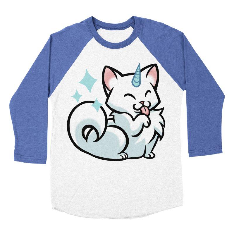 UniCat Women's Baseball Triblend Longsleeve T-Shirt by mirana's Artist Shop