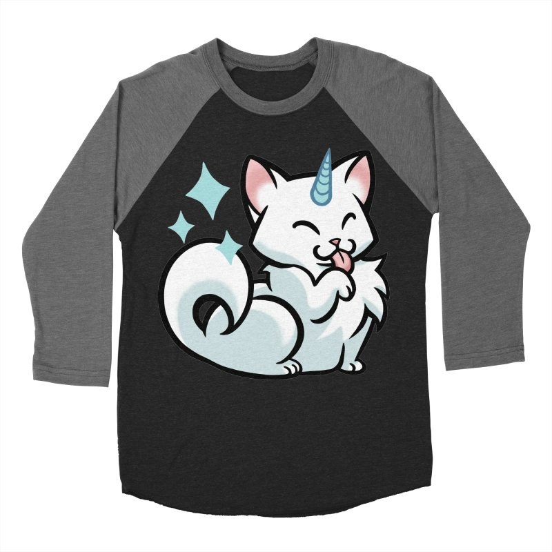 UniCat Women's Baseball Triblend Longsleeve T-Shirt by mirana's Artist Shop