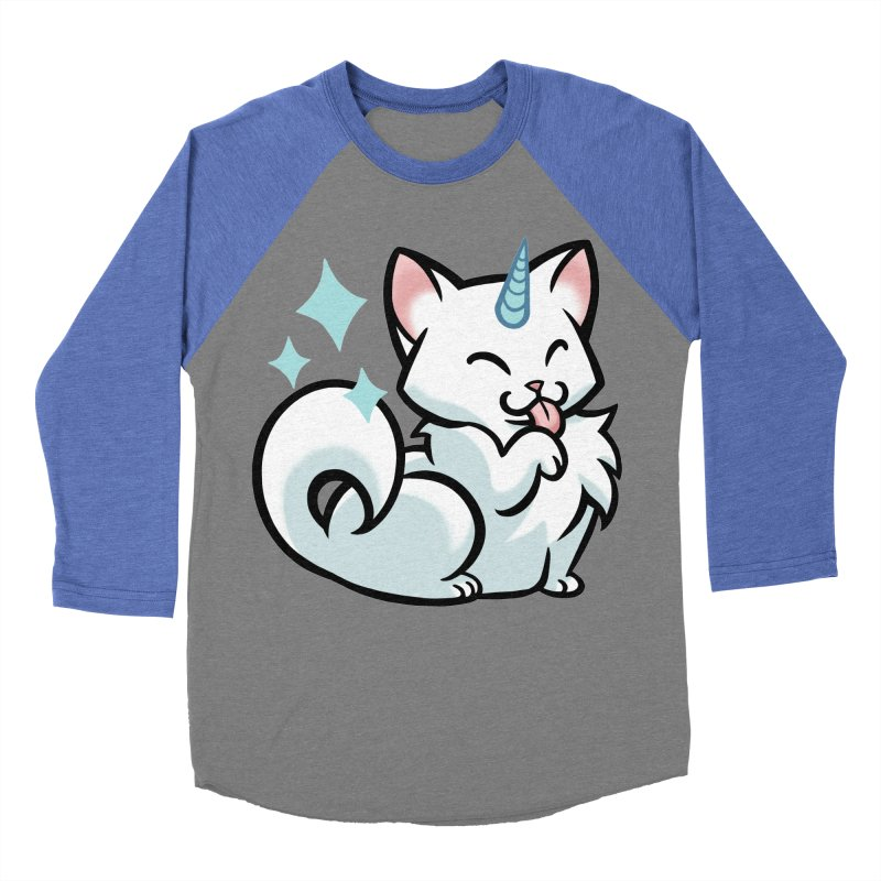 UniCat Men's Baseball Triblend Longsleeve T-Shirt by mirana's Artist Shop