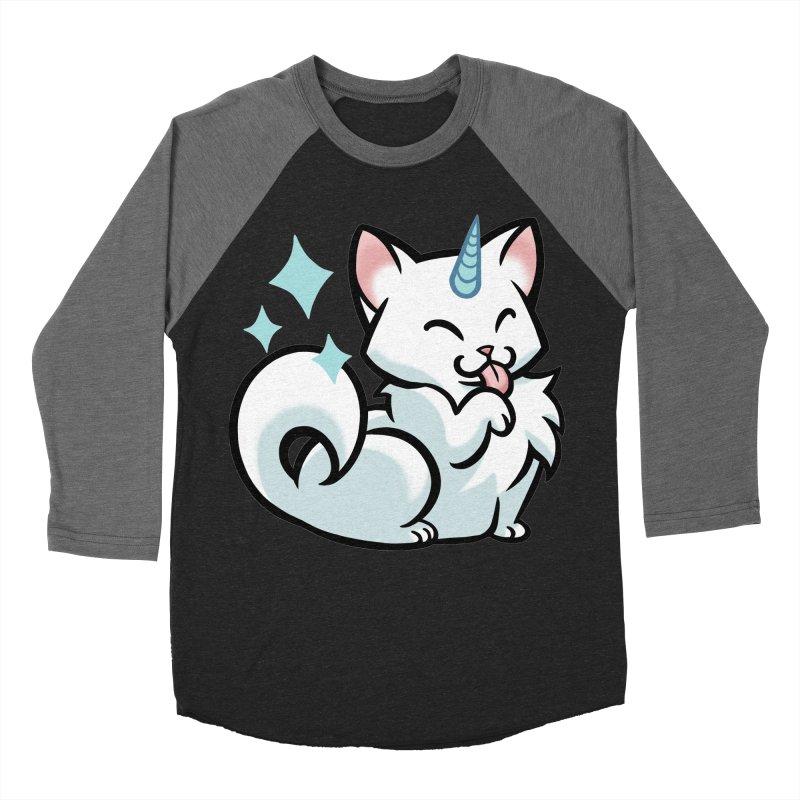 UniCat Men's Baseball Triblend Longsleeve T-Shirt by mirana's Artist Shop