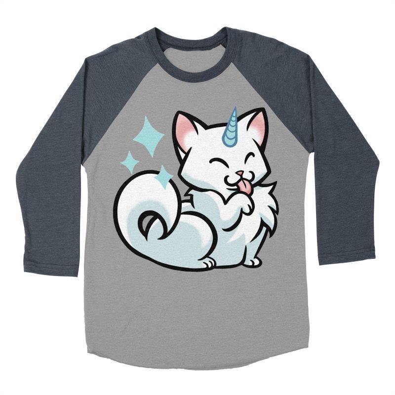 UniCat Men's Baseball Triblend T-Shirt by mirana's Artist Shop