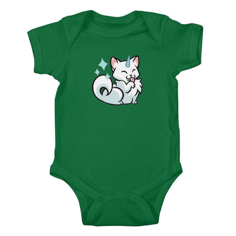 UniCat Kids Baby Bodysuit by mirana's Artist Shop