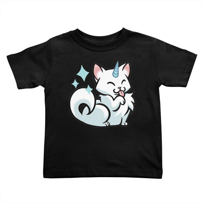 UniCat Kids Toddler T-Shirt by mirana's Artist Shop
