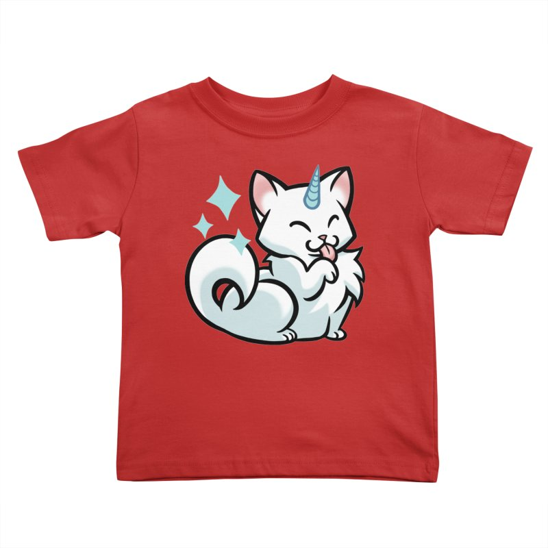 UniCat Kids Toddler T-Shirt by mirana's Artist Shop