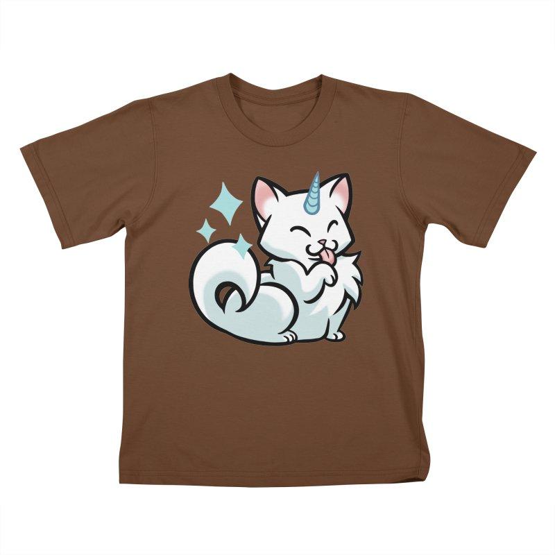 UniCat Kids T-shirt by mirana's Artist Shop