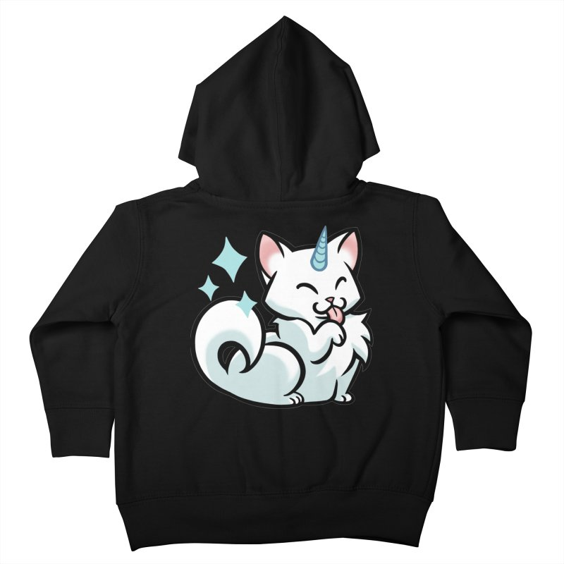 UniCat Kids Toddler Zip-Up Hoody by mirana's Artist Shop