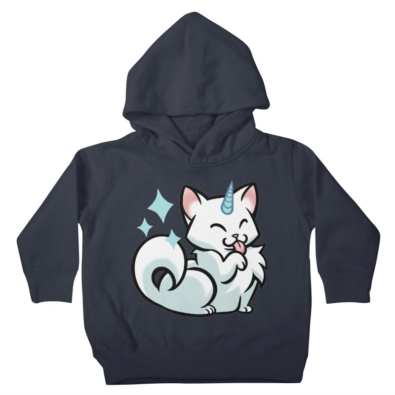 UniCat Kids Toddler Pullover Hoody by mirana's Artist Shop