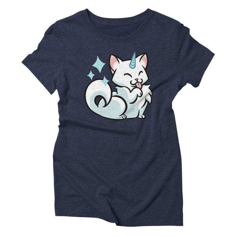 UniCat Women's Triblend T-Shirt by mirana's Artist Shop