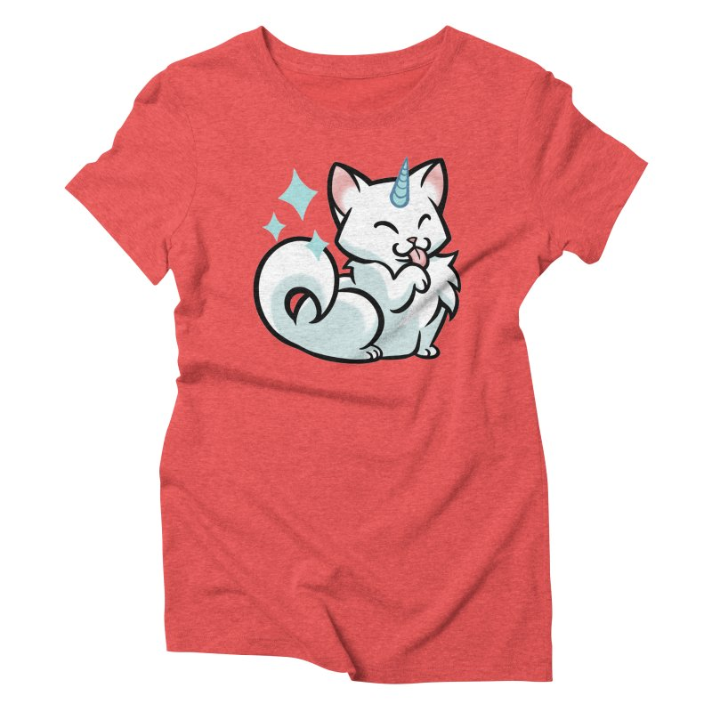 UniCat Women's Triblend T-Shirt by mirana's Artist Shop
