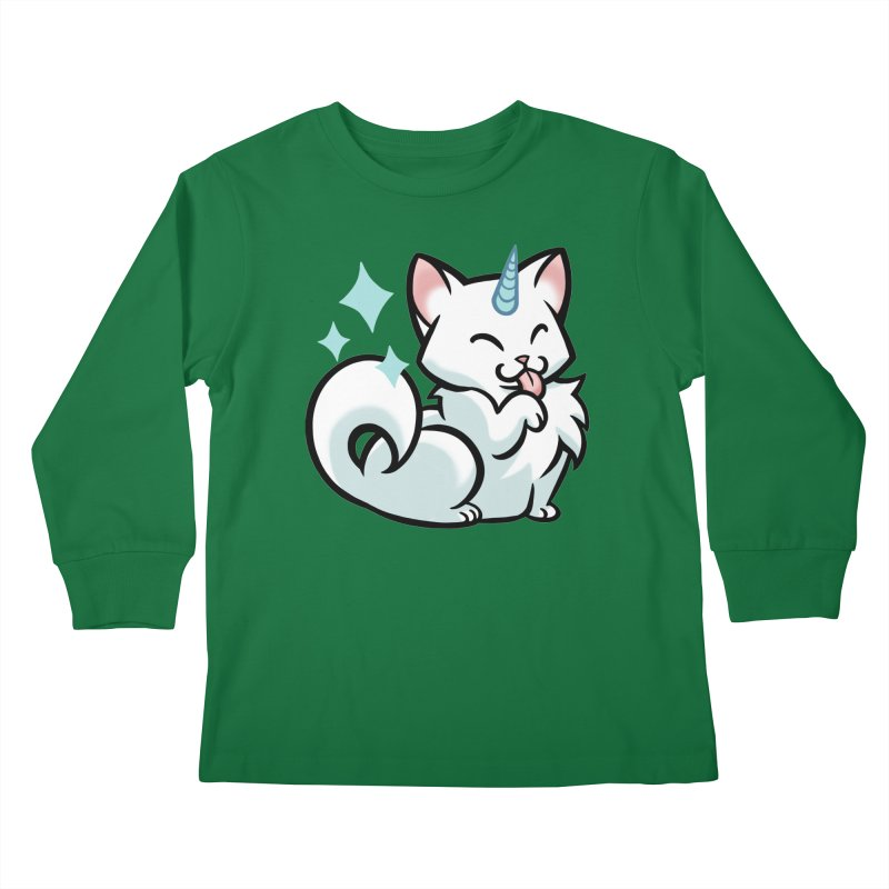UniCat Kids Longsleeve T-Shirt by mirana's Artist Shop