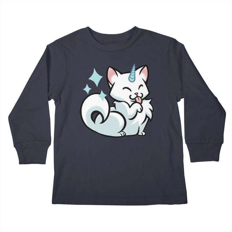 UniCat Kids Longsleeve T-Shirt by The Art of Mirana Reveier