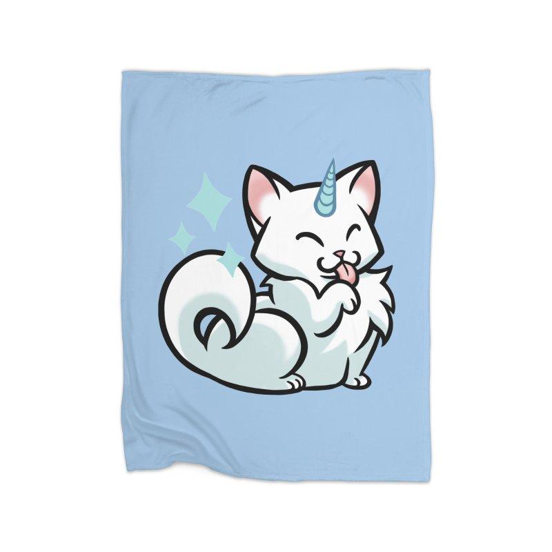 UniCat Home Blanket by The Art of Mirana Reveier