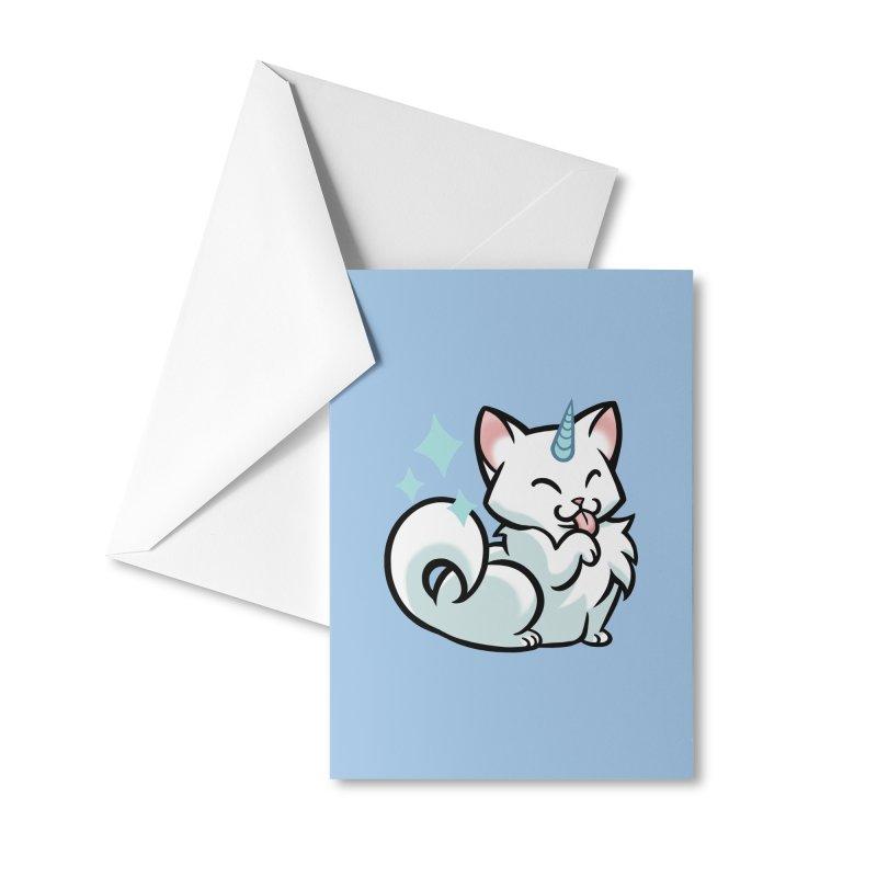UniCat Accessories Greeting Card by The Art of Mirana Reveier