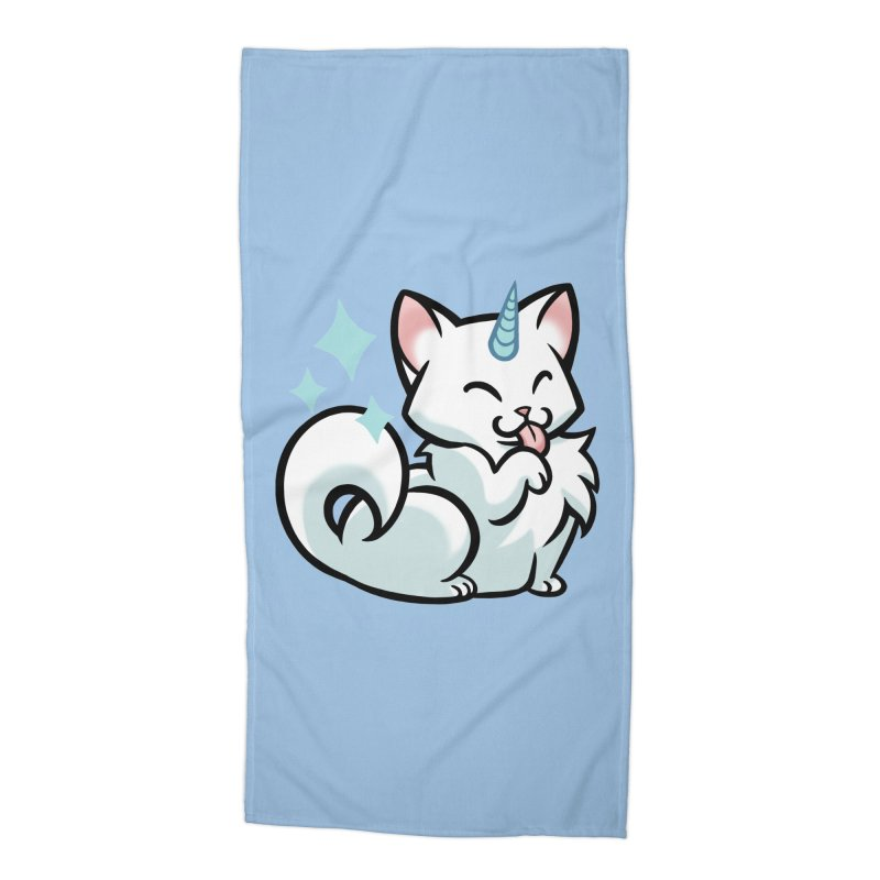 UniCat Accessories Beach Towel by The Art of Mirana Reveier