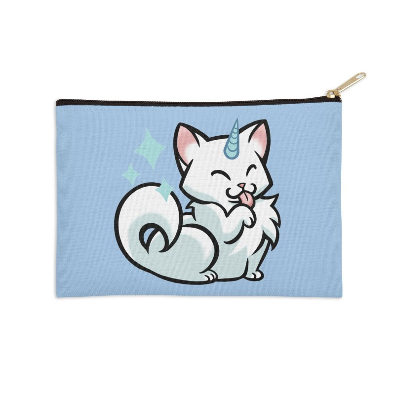 UniCat Accessories Zip Pouch by mirana's Artist Shop