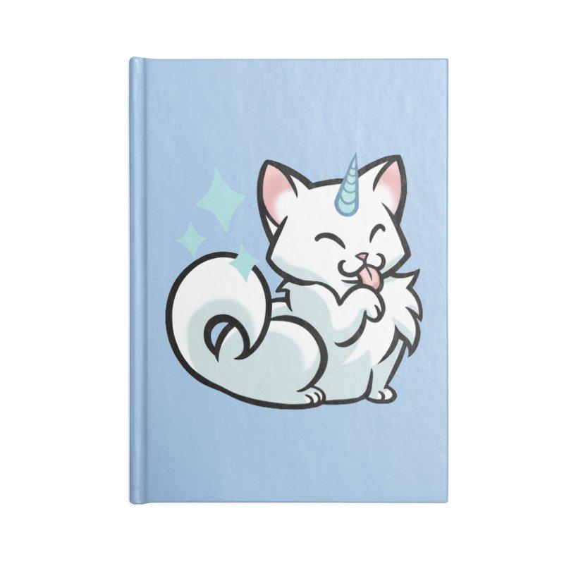 UniCat Accessories Lined Journal Notebook by mirana's Artist Shop