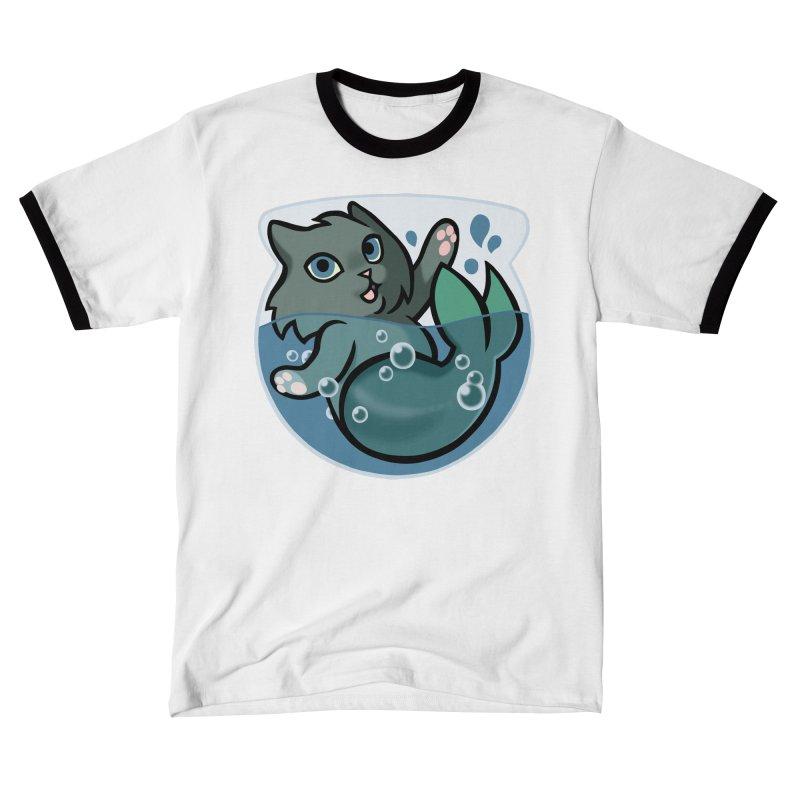 MerCat Men's T-Shirt by The Art of Mirana Reveier