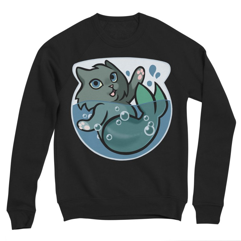 MerCat Women's Sweatshirt by The Art of Mirana Reveier
